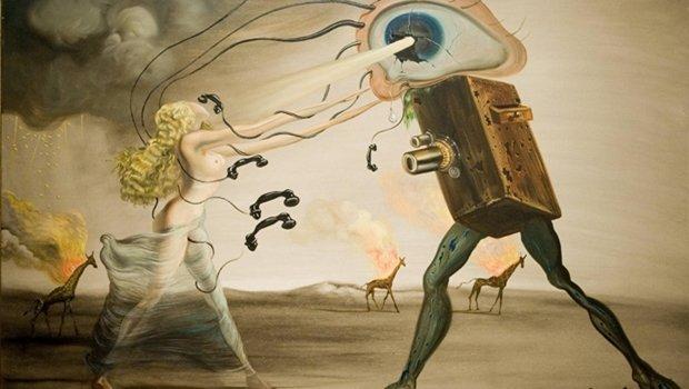 Quadro de Salvador Dali