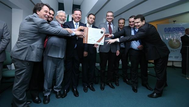 Hospital é o quinto em Goiás a receber o certificado da ONA   Foto: Henrique Luiz