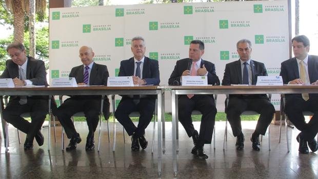 Governadores do Consórcio Brasil Central prometem continuar trabalho | Foto: Marco Monteiro