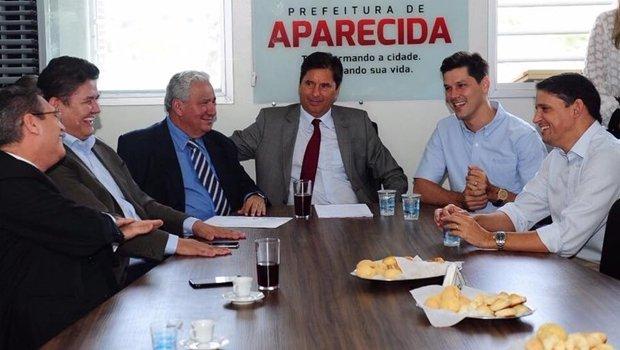 Encontro do PSD com o prefeito Maguito Vilela   Foto: Divulgação