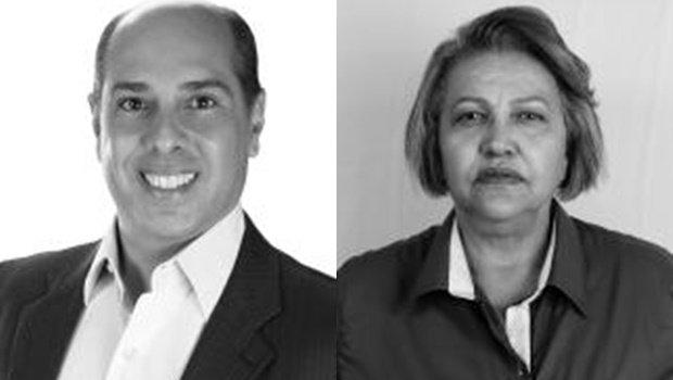 Dr. Davi e Pastora Cida, candidatos da chapa eleita em Pontalina | Foto: Reprodução
