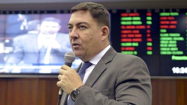 Líder do governo e presidente eleito da Alego, José Vitti | Foto: Ruber Couto