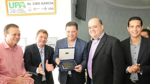 Governo inaugura obras em Itumbiara