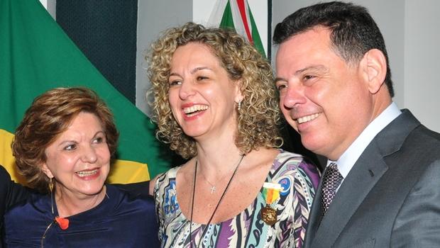 Marconi Perillo e Lúcia Vânia bebem o vinho da paz e devem marchar juntos em 2018