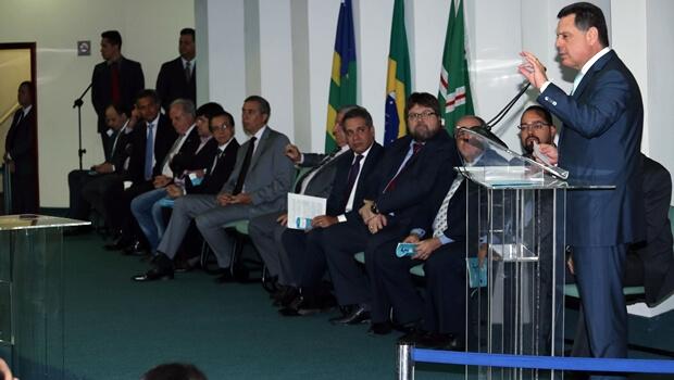 Marconi também participou do lançamento da Cartilha   Foto: Henrique Luiz
