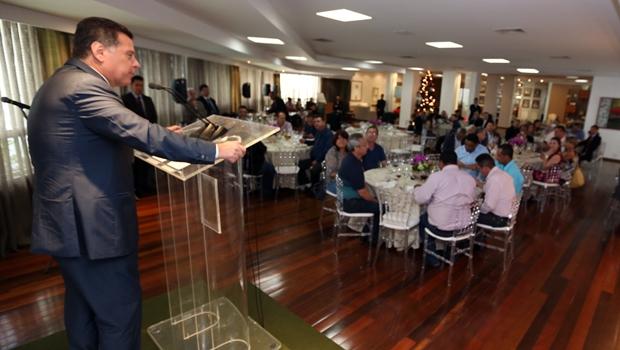 Governador debateu com líderes dos trabalhadores a situação fiscal do Estado | Foto: Henrique Luiz