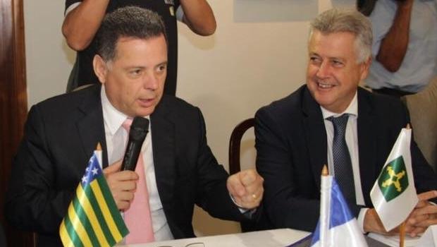 Marconi Perillo (PSDB) ressaltou o papel do governador Rodrigo Rollemberg (PSB) na articulação com o governo federal | Foto: Divulgação