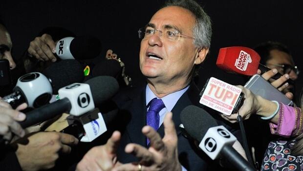 Renan Calheiros anuncia que irá recorrer de liminar sobre pacote anticorrupção