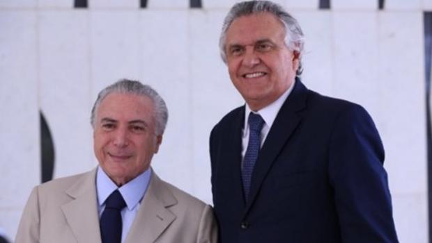 Deputado do PMDB diz que Caiado era aliado de Temer até há poucos dias