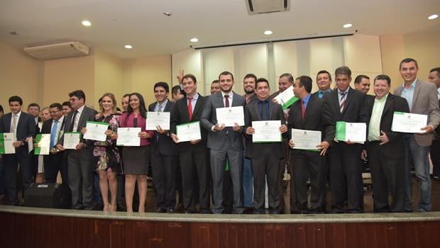 Eleitos de Palmas nas eleições 2016 são diplomados