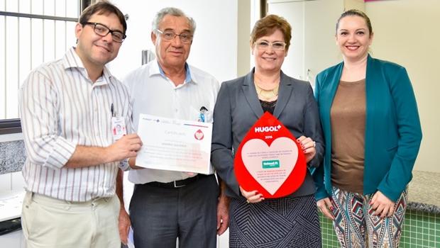 Hugol homenageia parceria da Unimed Goiânia