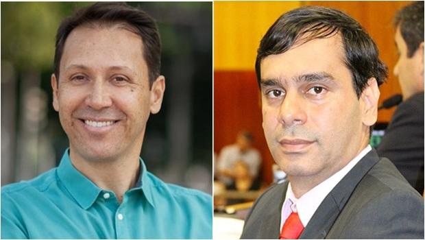 Wellington Peixoto é o nome dos vereadores e Andrey Azeredo é o nome de Iris Rezende