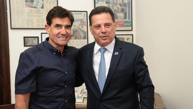 Marconi discutequestões da conjuntura brasileira com prefeito de Ribeirão Preto