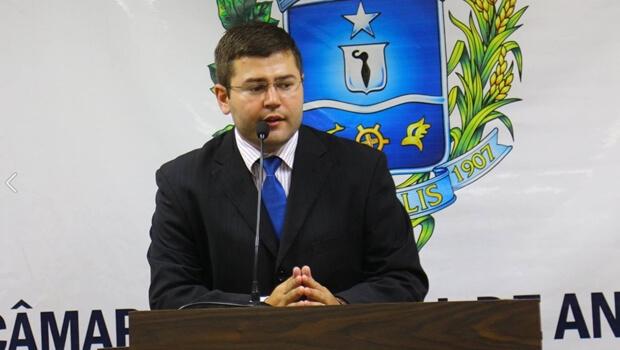 Da base de Roberto, Amilton Filho é o novo presidente da Câmara de Anápolis