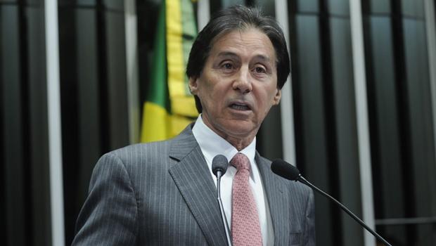 PMDB oficializa nome de Eunício à presidência do Senado
