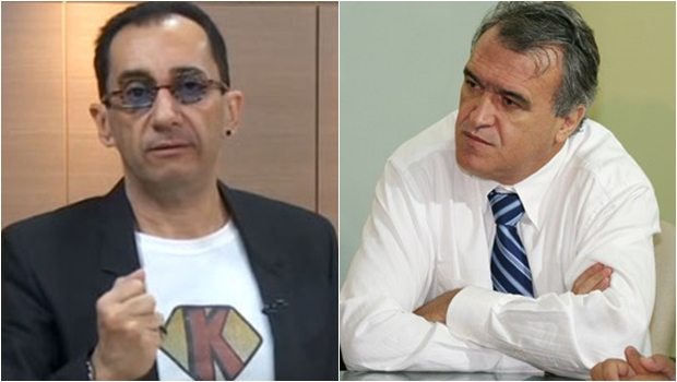 Iristas dizem que críticas de Jorge Kajuru a Iris Rezende e Andrey Azeredo são coordenadas por Braga