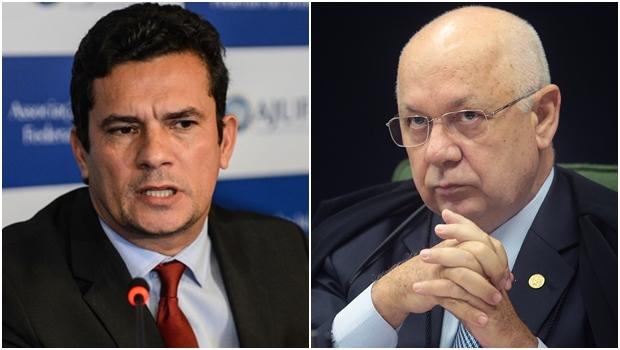 Sergio Moro e Teori Zavascki foram os homens do ano em 2016