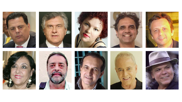 Brasil precisa descobrir Marconi Perillo, Cláudia Vieira, Marcelo Barra, Heleno Godoy e Edival Lourenço