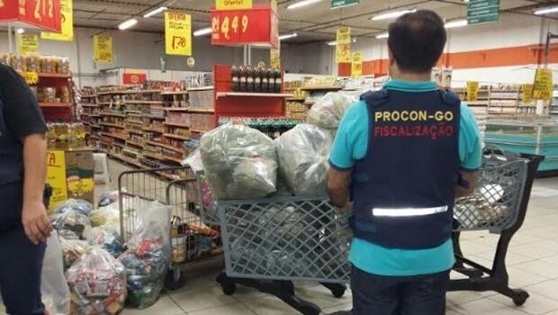 Em 2016, Procon Goiás registra aumento de apreensões de produtos impróprios
