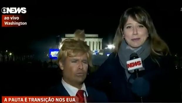 Globo News não reconhece Vesgo, do Pânico, e o entrevista como norte-americano