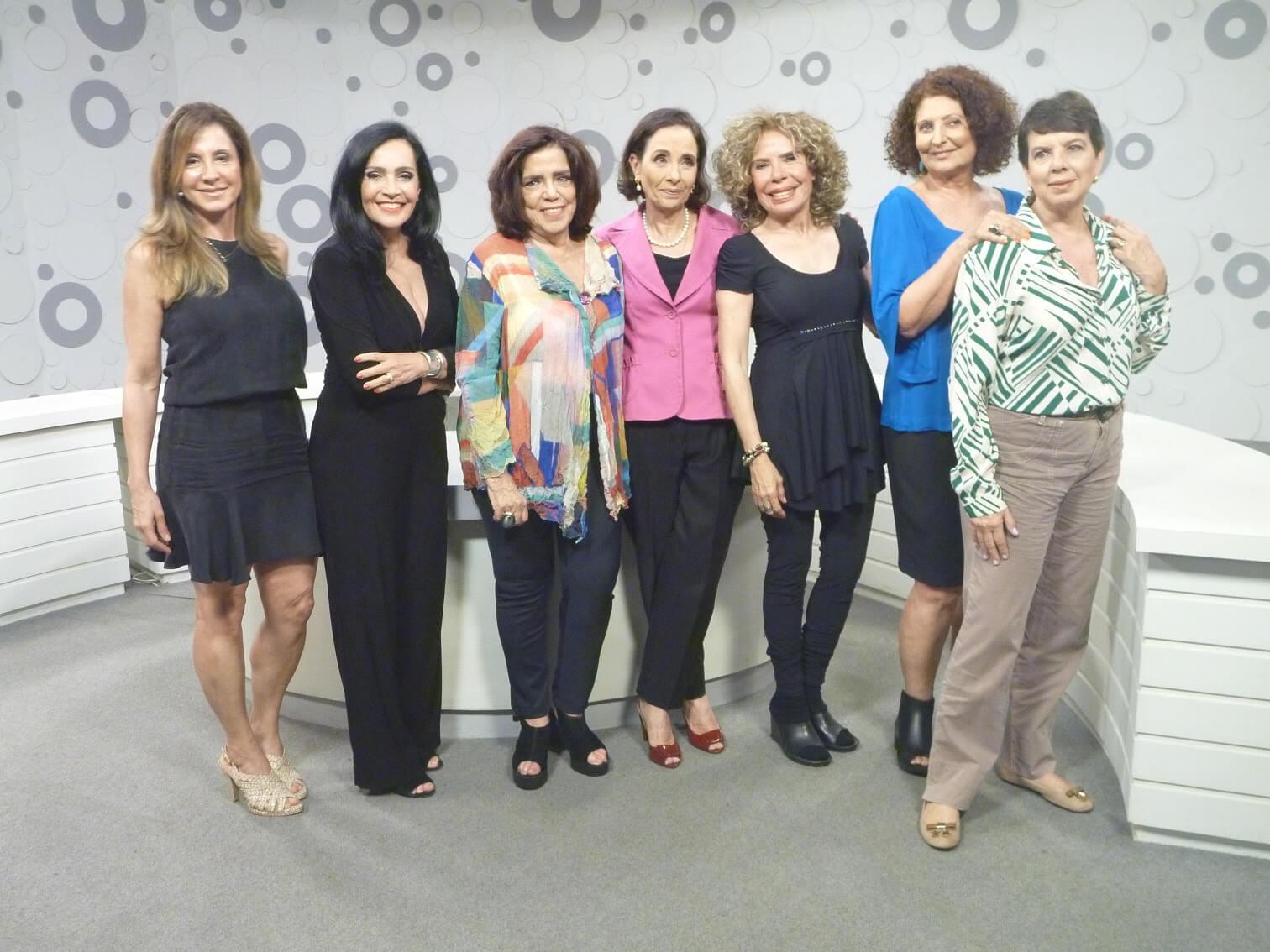 Vera Barroso substitui Leda Nagle como apresentadora do programa Sem Censura