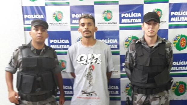 Homem é preso após roubar casa do próprio vizinho em Goiânia