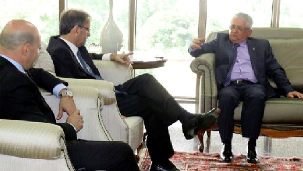 Parceria entre Executivo e Judiciário é tema de encontro no Palácio Araguaia