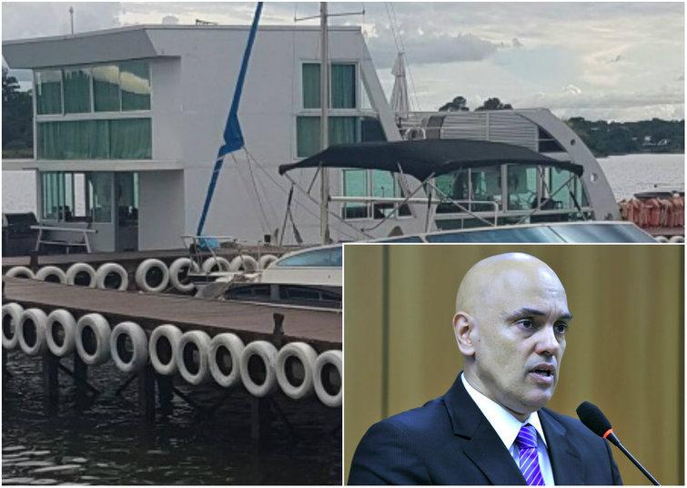Indicado para o STF por Temer, Alexandre de Moraes é sabatinado em barco do goiano Wilder Morais