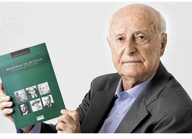 """Morre o jornalista Armando Acioli, articulista de """"O Popular"""""""
