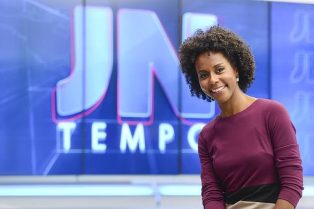 """Maria Júlia Coutinho, a Maju, vai apresentar o """"Jornal Hoje"""", da TV Globo"""