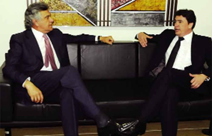 Senadores Wilder Morais e Ronaldo Caiado estão cada vez mais distanciados