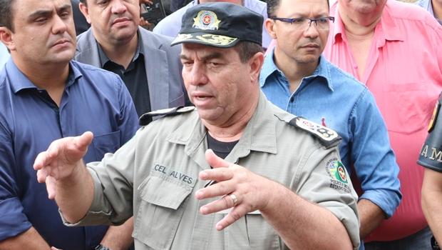 Coronel Divino Alves deixa comando da Polícia Militar em Goiás