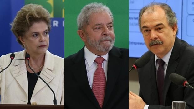 Polícia Federal diz que Lula, Dilma e Mercadante tentaram interferir na Lava Jato
