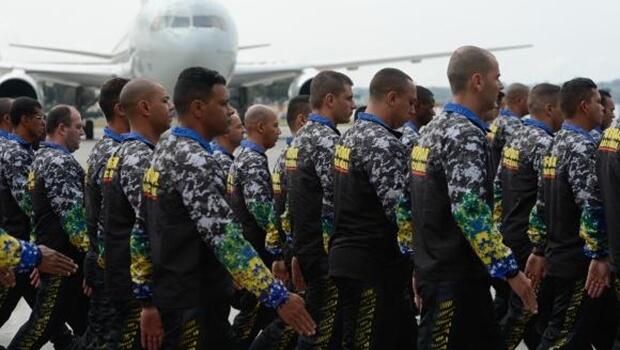 Força Nacional envia 200 homens para o Espírito Santo