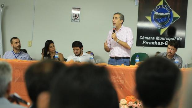 """José Eliton: """"2017 e 2018 serão de crescimento para Goiás"""""""
