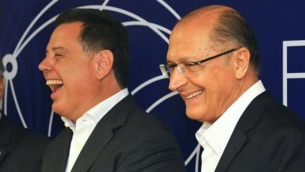 Marconi e Alckmin conversam mais de duas horas sobre política nacional