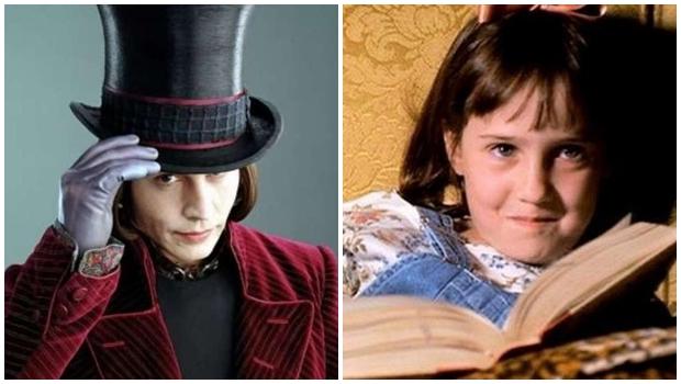 Personagens como Willy Wonka e Matilda mostram a necessidade de dar atenção a crianças superdotadas