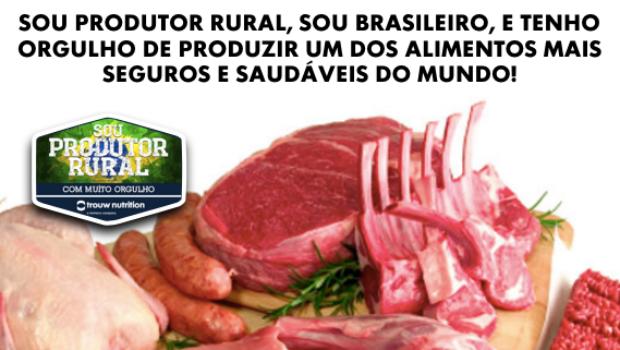 Após operação da PF, produtores rurais fazem campanha para defender carne brasileira