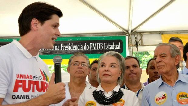 Iris Rezende admite apoiar Daniel Vilela para o governo de Goiás em 2018