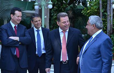 Marconi Perillo articula presença do PSD na base de José Eliton e Geraldo Alckmin