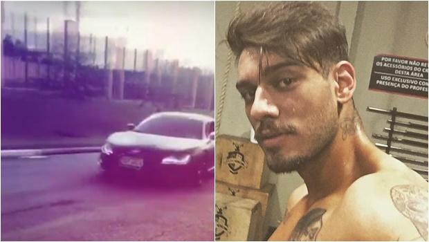 Lucas Lucco posta vídeo acelerando carrão em região nobre de Goiânia. Assista