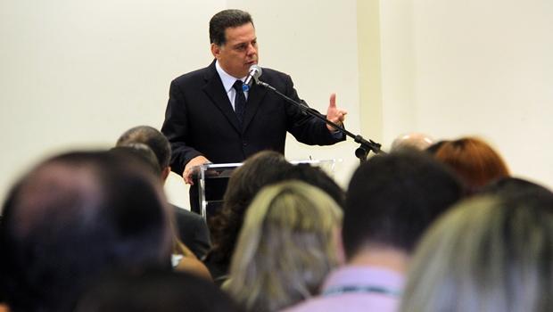 """""""PSDB não tinha que estar no centro da crise nacional"""", defende Marconi"""