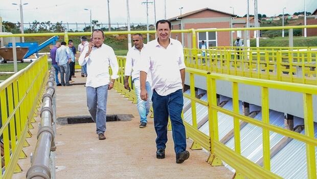 Ministério das Cidades escolhe Águas Lindas para obras prioritárias