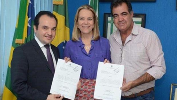 Lêda Borges consegue autorização para obras em Cidade Ocidental e Valparaíso