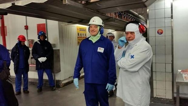 Ministro visita planta da BRF em Goiás