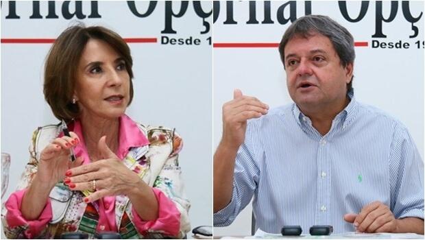 Jayme Rincón e Raquel Teixeira são arrasa-quarteirões para deputado federal