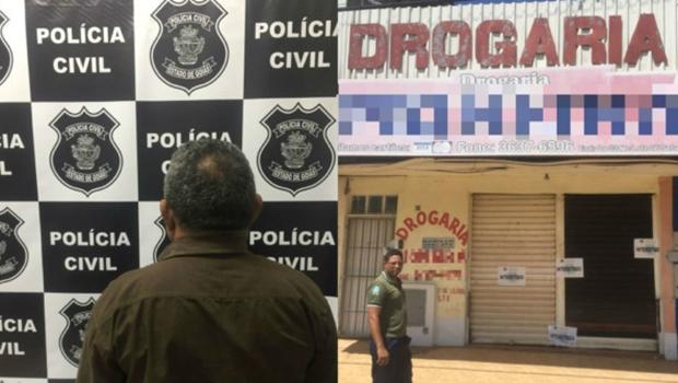 Polícia prende dono de farmácia que comercializava medicamento abortivo em Goiás