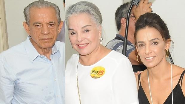 Assessoria ruim leva Iris Araújo e Ana Paula Rezende a grudar em Iris Rezende