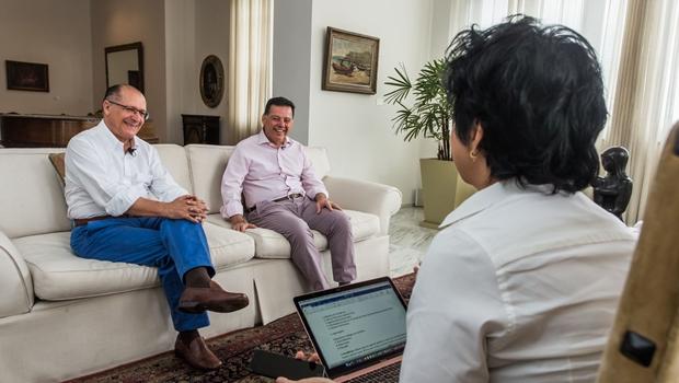 Em bate papo, Marconi e Alckmin defendemReforma da Previdência