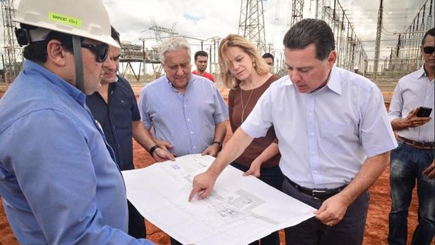 Marconi começa Goiás na Frente com investimentos de R$ 98 mi na subestação de Luziânia